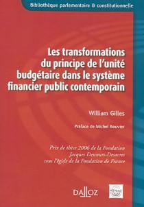 Les transformations du principe de l'unité budgétaire dans le système financier public contemporain