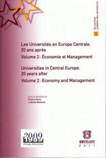 Les Universités en Europe centrale, 20 ans après : Économie et management