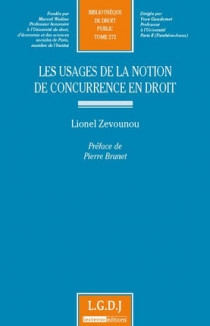 Les usages de la notion de concurrence en droit