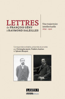Lettres de François Gény à Raymond Saleilles