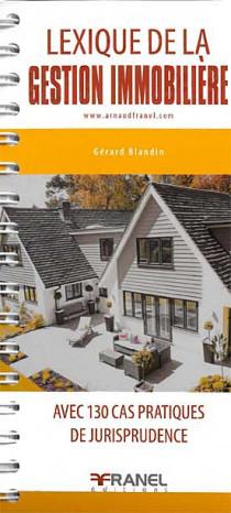 Lexique de la gestion immobilière