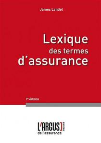 Lexique des termes d'assurance