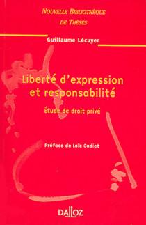 Liberté d'expression et responsabilité