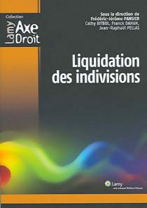 Liquidation des indivisions