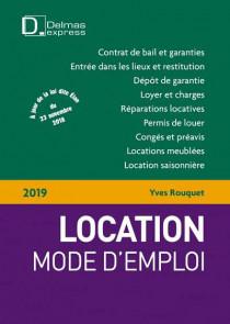 Location, mode d'emploi 2019