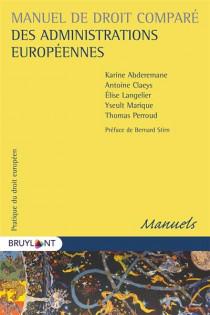Manuel de droit comparé des administrations européennes