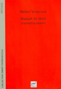 Manuel de droit constitutionnel