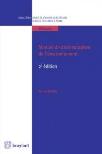 Manuel de droit européen de l'environnement