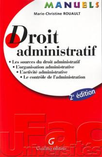 Manuel - Droit administratif