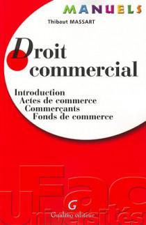 Manuel - Droit commercial
