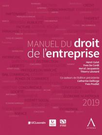 Manuel du droit de l'entreprise 2019