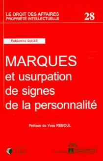 Marques et usurpation de signes de la personnalité