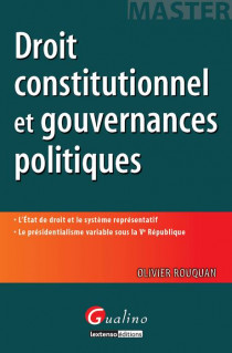 Droit constitutionnel et gouvernances politiques [EBOOK]