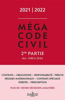 Méga code civil 2021-2022