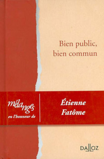 Mélanges en l'honneur d'Etienne Fatôme