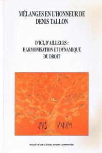Mélanges en l'honneur de Denis Tallon
