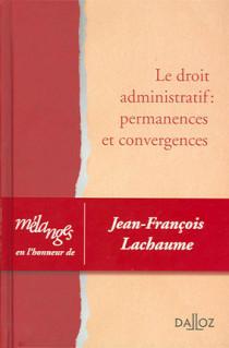 Mélanges en l'honneur de Jean-François Lachaume
