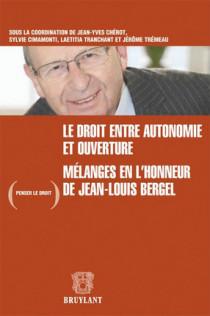Mélanges en l'honneur de Jean-Louis Bergel