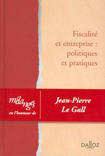 Mélanges en l'honneur de Jean-Pierre Le Gall