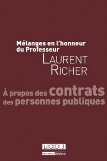 Mélanges en l'honneur de Laurent Richer