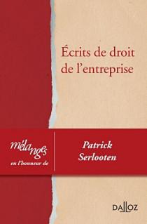 Mélanges en l'honneur de Patrick Serlooten
