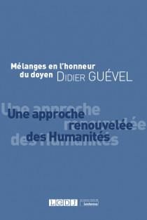 Mélanges en l'honneur du doyen Didier Guével
