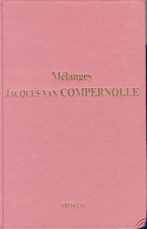 Mélanges Jacques Van Compernolle