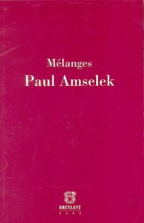 Mélanges Paul Amselek