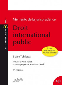 Mémento de la jurisprudence - Droit international public
