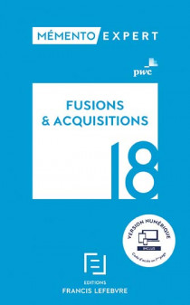 Mémento fusions & acquisitions 2018