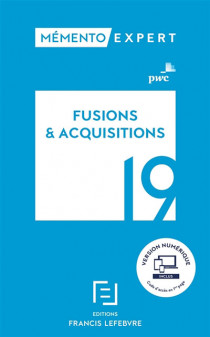 Mémento fusions & acquisitions 2019