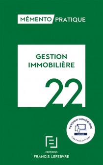 Mémento gestion immobilière 2022