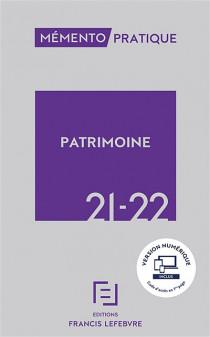 Mémento patrimoine 2021-2022