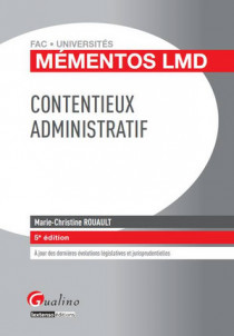 Mémentos LMD - Contentieux administratif