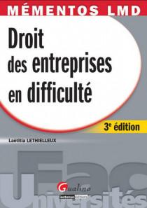 Mémentos LMD - Droit des entreprises en difficulté
