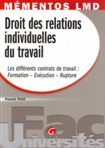Mémentos LMD - Droit des relations individuelles du travail