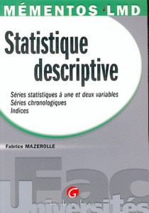 Mémentos LMD - Statistique descriptive