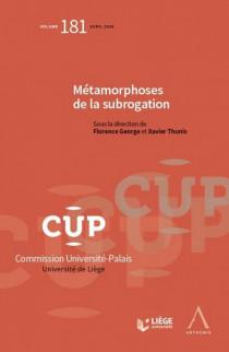 Métamorphoses de la subrogation