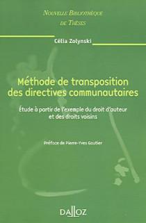 Méthode de transposition des directives communautaires