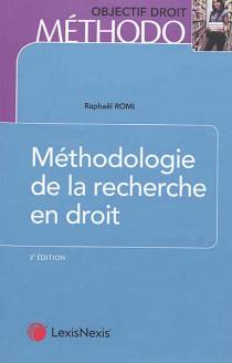 Méthodologie de la recherche en droit