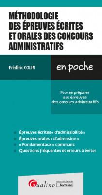 [EBOOK] Méthodologie des épreuves écrites et orales des concours administratifs