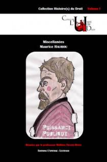 Miscellanées Maurice Hauriou