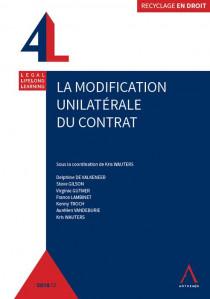Modification unilatérale du contrat