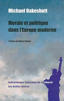 Morale et politique dans l'Europe moderne