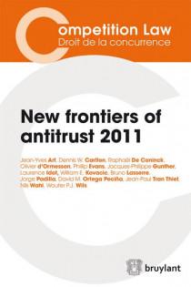 New frontiers of Antitrust - 2011