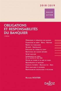 Obligations et responsabilités du banquier 2018-2019