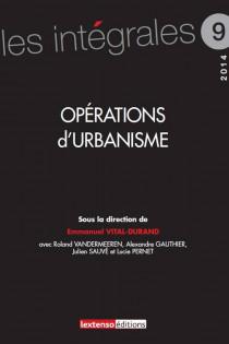 Opérations d'urbanisme