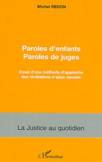 Paroles d'enfants - Paroles de juges