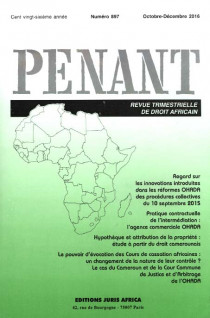 Penant, octobre-décembre 2016 N°897