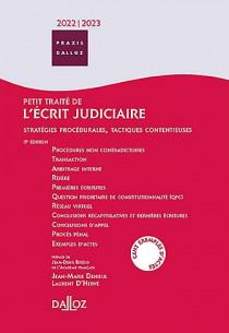 Petit traité de l'écrit judiciaire 2022-2023